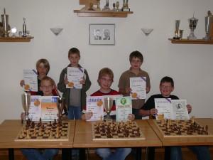 Die Podiumsplatz-Inhaber der Saison 2008/2009!