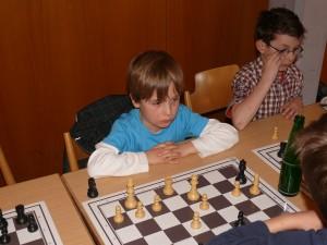 Unser jüngster Teilnehmer: Johannes Lammers