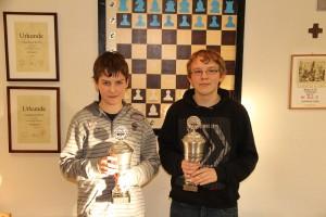 Die Titelträger: Christoph Lürick (links) und Andreas Lösing (rechts)