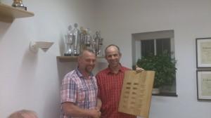 Vereinsmeister 2014 ist Willi Böckers