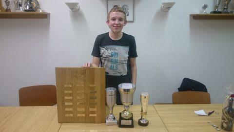 Andreas Lösing - Vereinsmeister, Pokalsieger, Blitzmeister und Schnellschachmeister