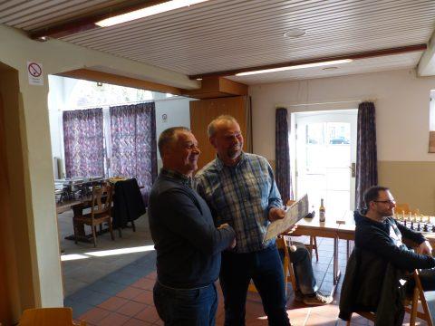 Ehrung Willi Hollekamp für 50-jährige Mitgliedschaft